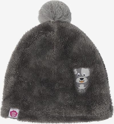 Affenzahn Kindermütze in grau, Produktansicht