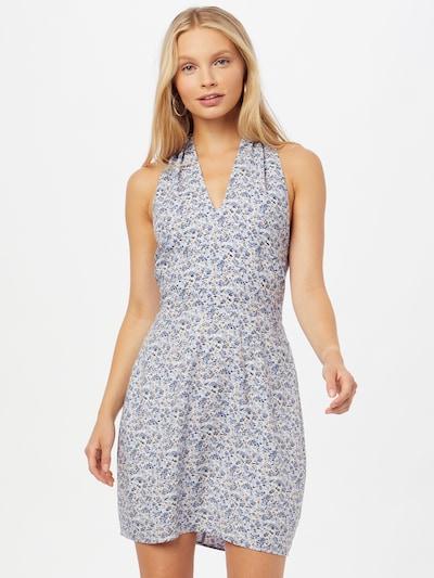 kék / világoskék / világos-rózsaszín / fehér Abercrombie & Fitch Nyári ruhák, Modell nézet