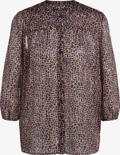 SET Bluse in braun / lila, Produktansicht