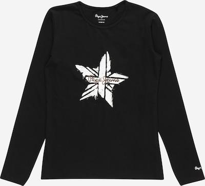 Pepe Jeans Shirt 'SHANA' in schwarz / weiß, Produktansicht