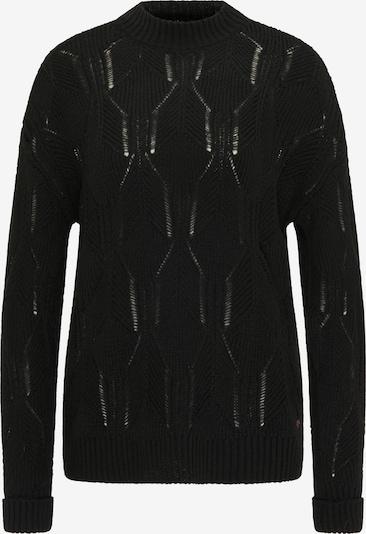 MUSTANG Sweater ' Strickpullover ' in schwarz, Produktansicht