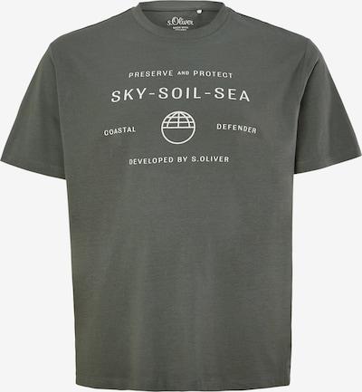 s.Oliver Shirt in de kleur Olijfgroen, Productweergave
