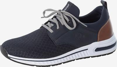 RIEKER Sneaker in marine / braun, Produktansicht
