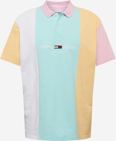 Tommy Jeans Tričko - aqua modrá / jasně oranžová / světle růžová, Produkt