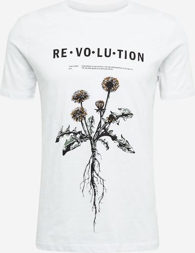 !Solid Camiseta 'Pablo' en amarillo oscuro / verde / negro / blanco, Vista del producto