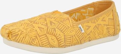 TOMS Slipper 'ALPARGATA' in gelb, Produktansicht