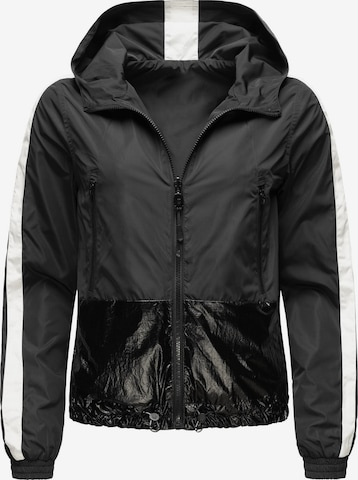 NAVAHOO Between-Season Jacket 'Sunitaa' in Black