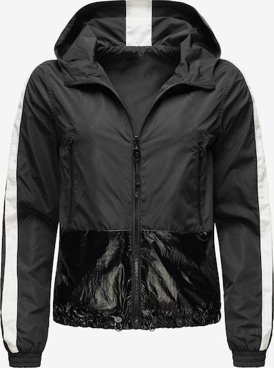 NAVAHOO Jacke 'Sunitaa' in schwarz / weiß, Produktansicht