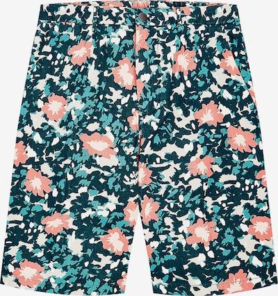 TOMMY HILFIGER Shorts in beige / grün / orange, Produktansicht