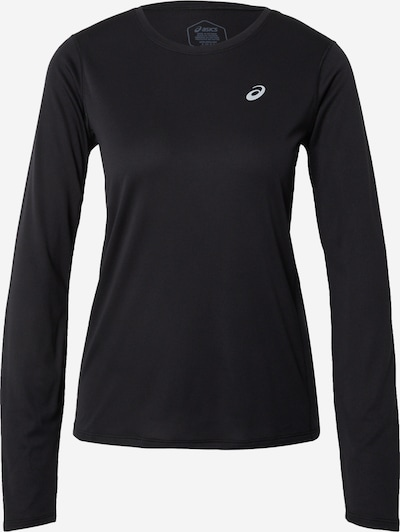 ASICS T-shirt fonctionnel en noir / blanc, Vue avec produit