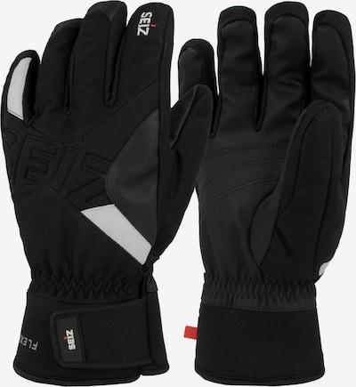 Seiz Handschuhe in grau / schwarz, Produktansicht