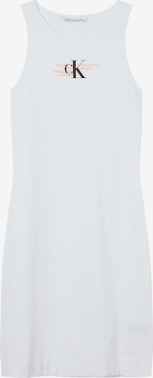 Calvin Klein Jeans Jurk in de kleur Sinaasappel / Zwart / Wit, Productweergave