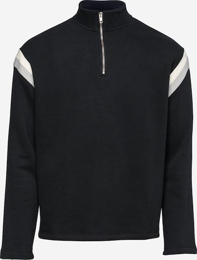 NU-IN Sweater majica u crna / bijela, Pregled proizvoda