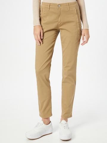 BRAX Chino-püksid 'MERRIT', värv pruun