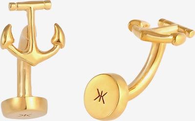 KUZZOI Manchetknopen in de kleur Goud, Productweergave