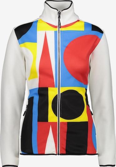 CMP Jacke in hellblau / gelb / hellrot / schwarz / weiß, Produktansicht