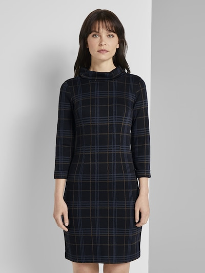 TOM TAILOR Kleid in dunkelblau, Modelansicht