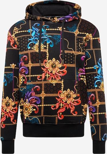 Bluză de molton Carlo Colucci pe mai multe culori / negru, Vizualizare produs