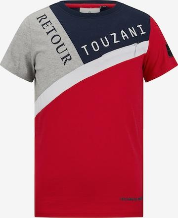T-Shirt 'Catch' Retour Jeans en rouge