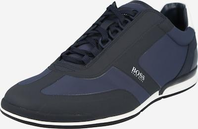 BOSS Casual Sneakers laag 'Saturn' in de kleur Navy / Nachtblauw / Wit, Productweergave