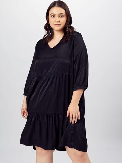 ONLY Carmakoma Kleid 'TALIA' in schwarz, Modelansicht