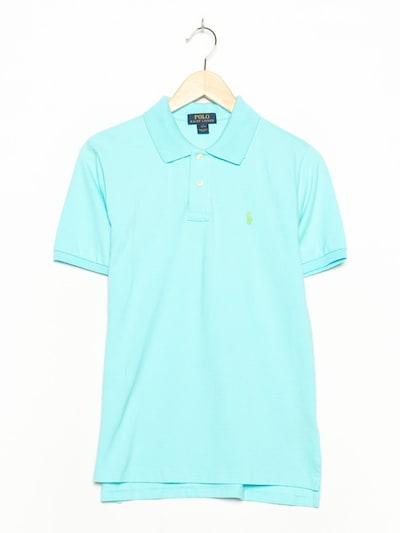 POLO RALPH LAUREN Polohemd in S-M in aqua, Produktansicht