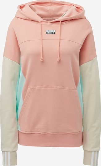 ADIDAS ORIGINALS Sweatshirt 'R.Y.V.' in de kleur Crème / Mintgroen / Rosa: Vooraanzicht
