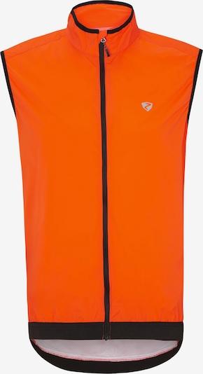 ZIENER Sportweste 'NECHAMUS' in orange / schwarz, Produktansicht