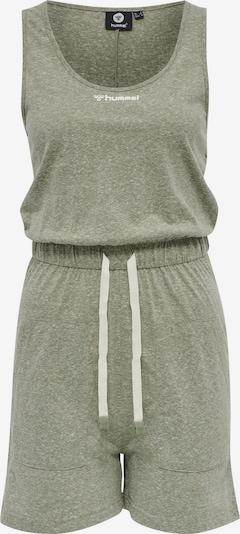 Hummel Jumpsuit 'Zandra' in de kleur Kaki / Wit, Productweergave