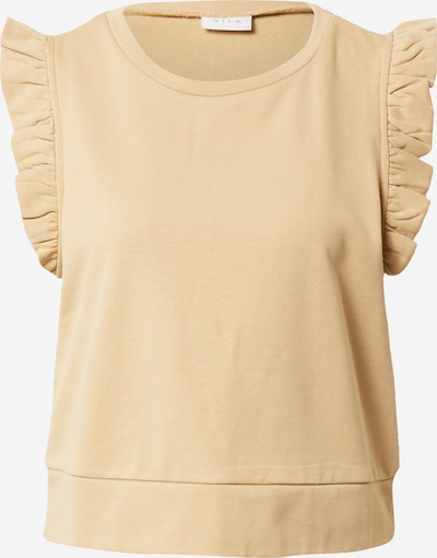 VILA Shirt in hellbeige, Produktansicht