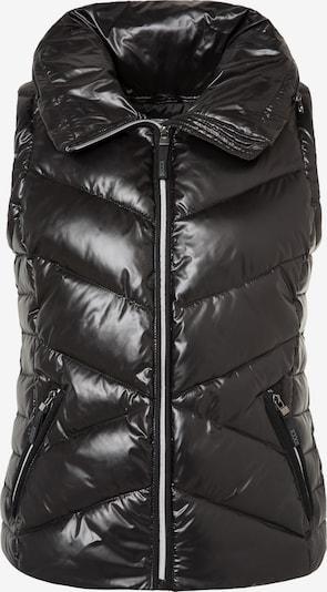 Soccx Steppweste mit Kapuze in schwarz, Produktansicht
