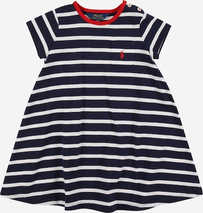 POLO RALPH LAUREN Kleid 'SWING' in navy / weiß, Produktansicht