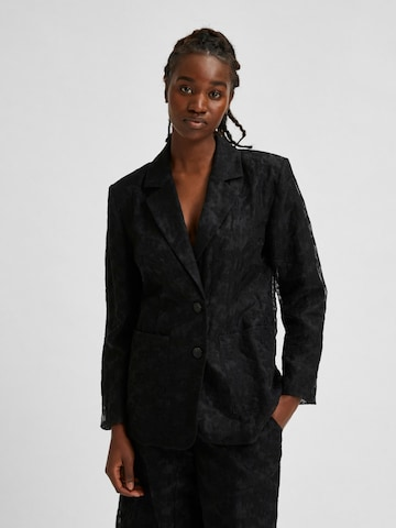 Blazer 'Flora' di SELECTED FEMME in nero