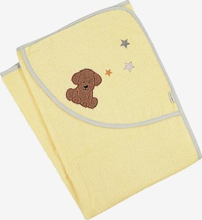 STERNTALER Handtuch in braun / gelb, Produktansicht