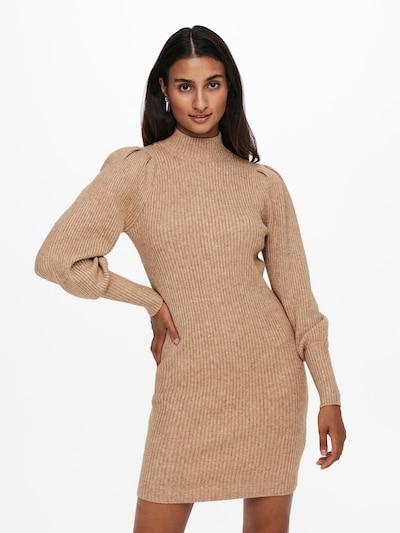 ONLY Pletené šaty 'Kytia' - piesková, Model/-ka