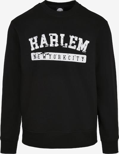 SOUTHPOLE Sweat-shirt 'Harlem' en noir / blanc, Vue avec produit