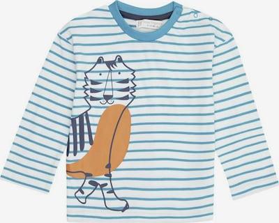 Sense Organics Camiseta 'Hans' en turquesa / azul noche / naranja / blanco, Vista del producto