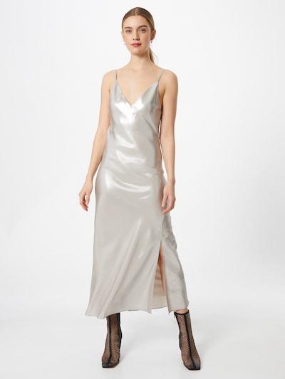 Calvin Klein Jeans Aftonklänning i platina, På modell