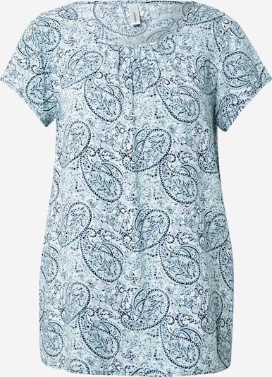 Soyaconcept Bluse 'ODELIA' in blau / türkis / weiß, Produktansicht