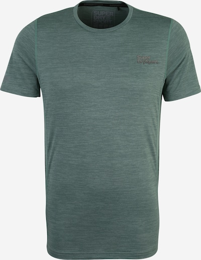 Superdry T-Shirt in grünmeliert, Produktansicht