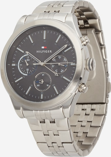 TOMMY HILFIGER Uhr 'ASHTON' in schwarz / silber, Produktansicht