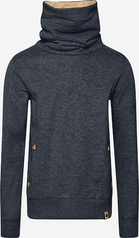 Fli Papigu Sweatshirt 'Frei sein Du Muss' in Blau