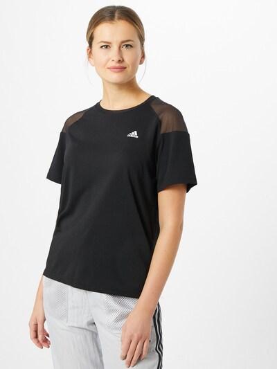 ADIDAS PERFORMANCE Functioneel shirt in de kleur Zwart: Vooraanzicht