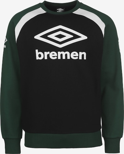 UMBRO Athletic Sweatshirt ' Werder Bremen' in Black, Item view