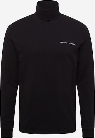 Maglietta di Samsoe Samsoe in nero