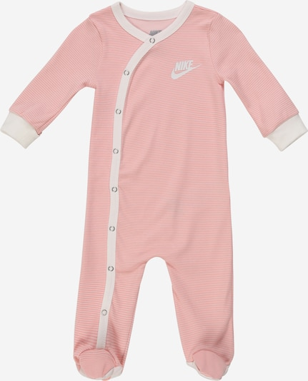Nike Sportswear Ganzteil 'STRIPED FOOTED COVERALL' in pink, Produktansicht