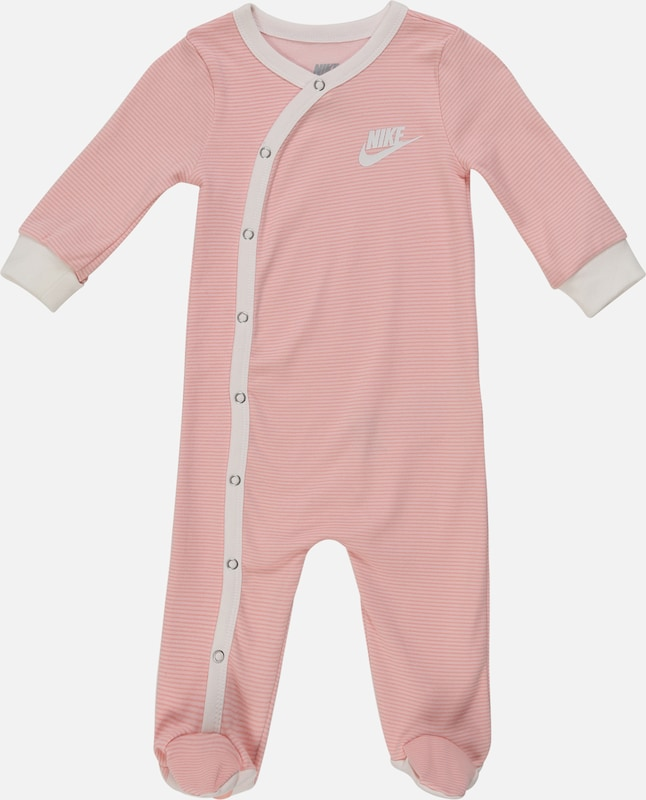 Nike Sportswear Ensemble 'STRIPED FOOTED COVERALL' en rose, Vue avec produit
