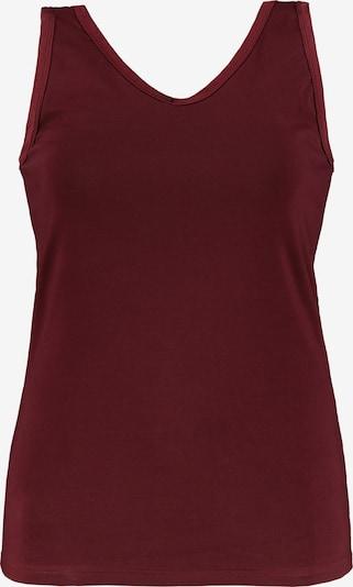 Ulla Popken Camiseta térmica en burdeos, Vista del producto