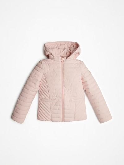 GUESS KIDS JACKE in rosa, Produktansicht