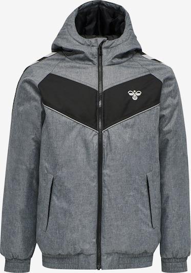 Hummel Jacke in grau / schwarz, Produktansicht